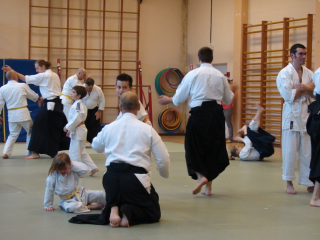 technique libre - stage aikido 16 mai 2015