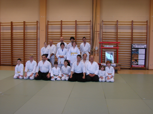 photo de groupe - stage aikido 16 mai 2015