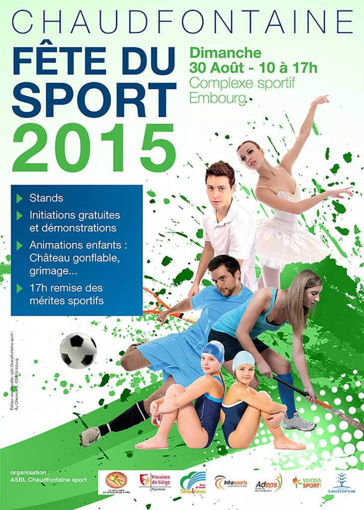 fête du sport à Embourg 2015